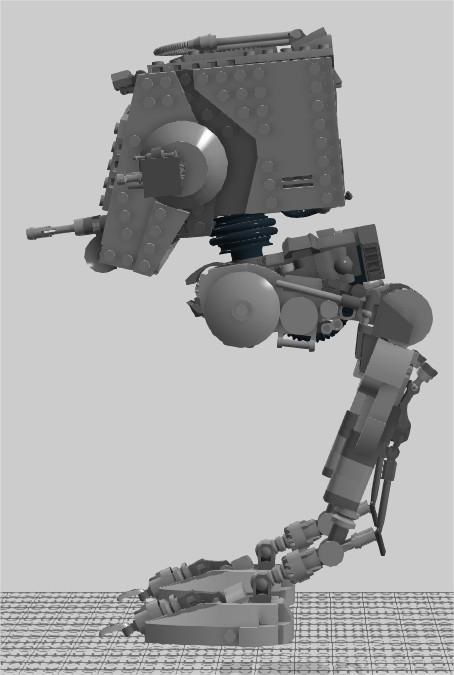 Moc Another At St Version 2 Lego Star Wars Eurobricks Forums